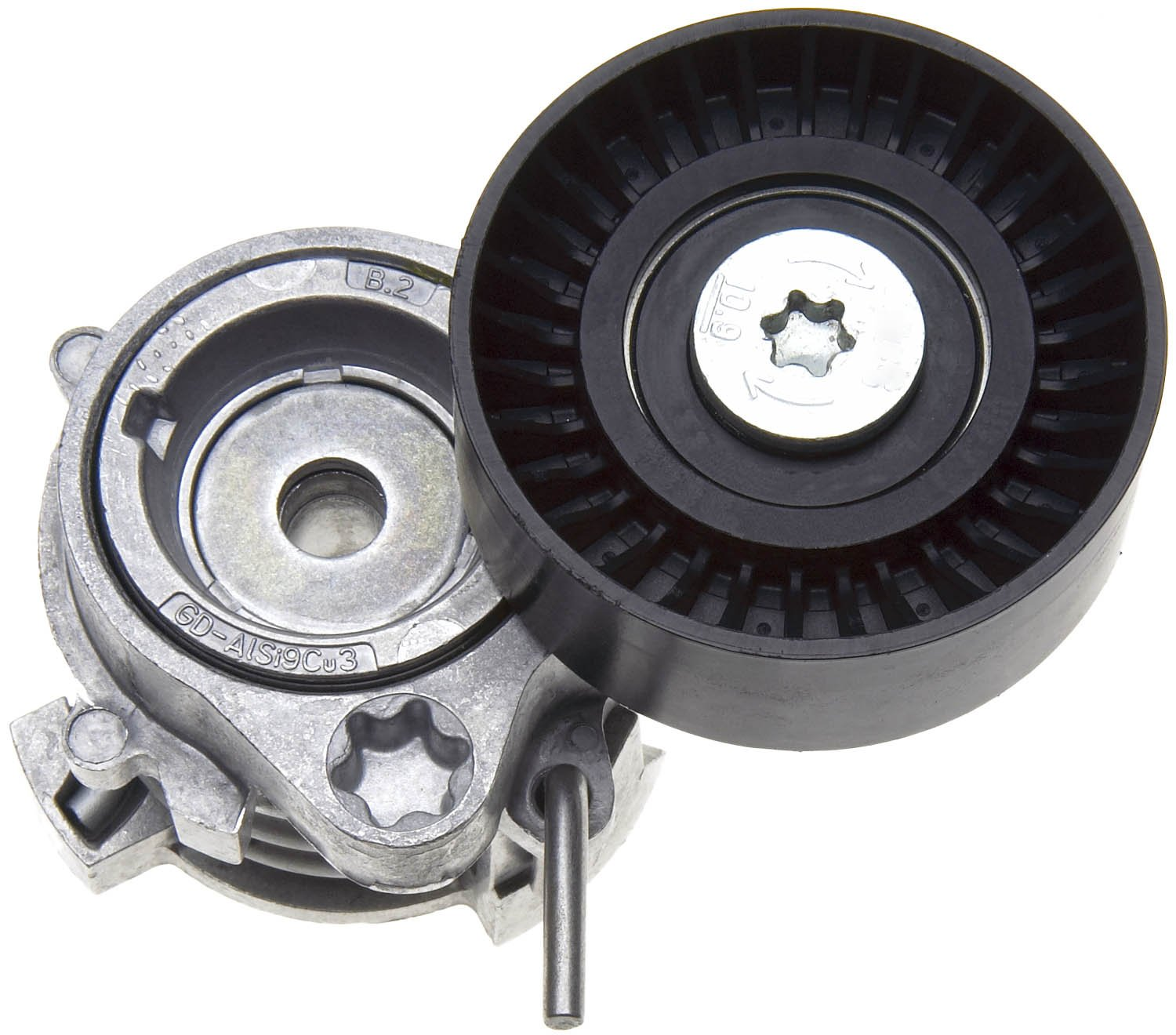 ACDelco 38384 Professional Automatic Belt Tensioner and Pulley Assembly