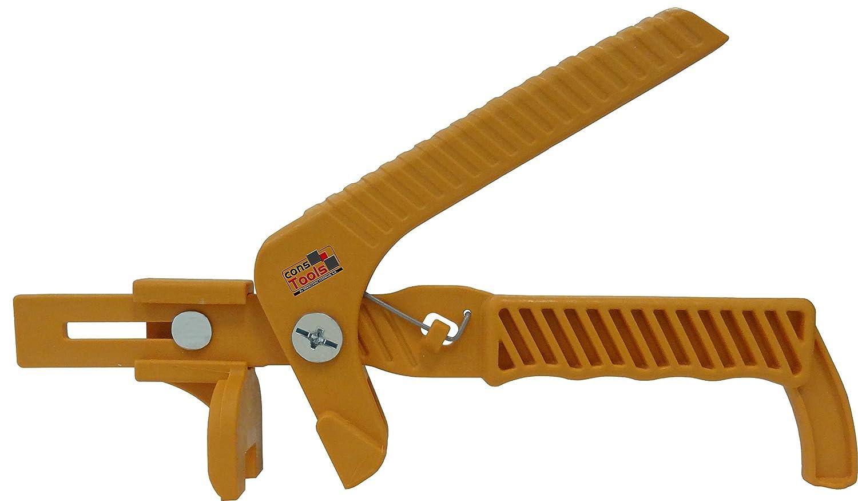 Sistema Nivelación Baldosas Kit 100 cuñas + 100 clips + Tenaza. Para usar con baldosas de 3 a 13mm. (Espesor 3 mm.): Amazon.es: Bricolaje y herramientas