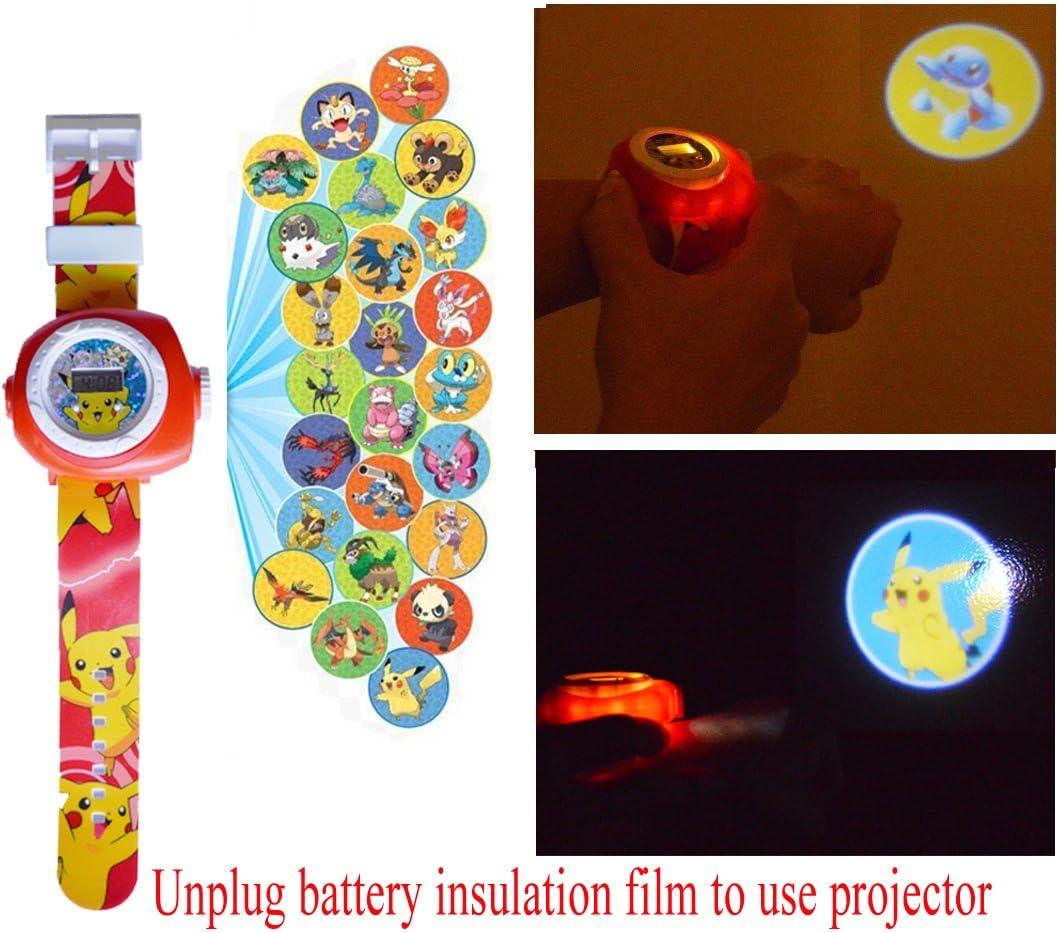 Pikachu Reloj de Proyección Digital 20 Imágenes Diferentes: Amazon ...