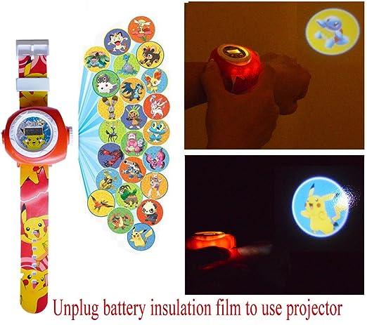 3 opinioni per Pokemon Pikachu orologio da polso proiezione 20 immagini
