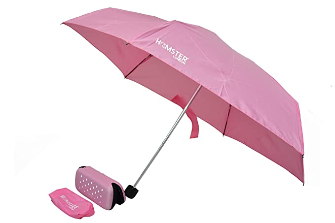 Mini Pink Umbrella with UV Coating