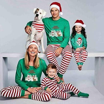 Beline Family Christmas Pajamas 2Pcs Set Xmas Pjs Matching ...