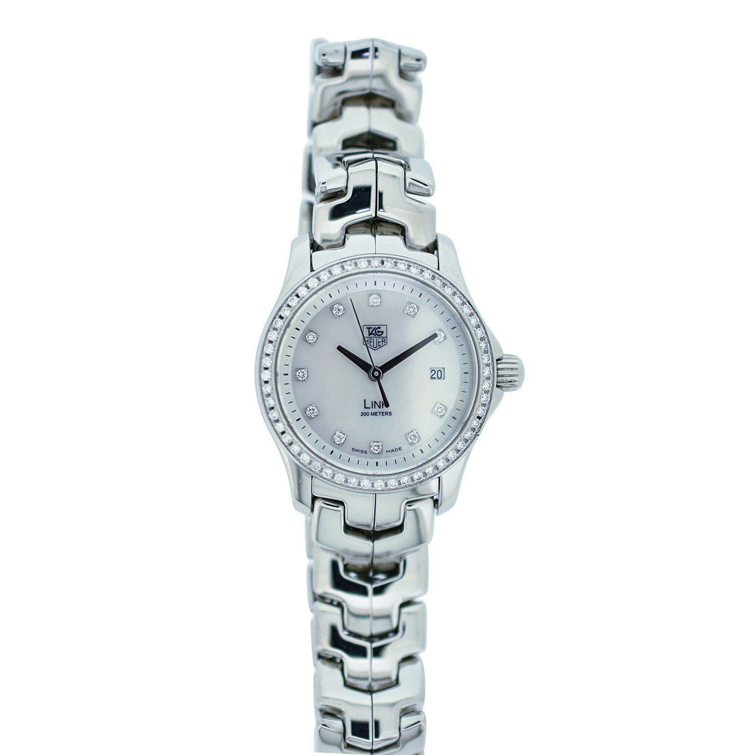 Tag Heuer Link quartz womens Watch WJF1319 (Certified Pre-owned)