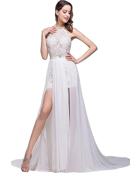 VIPbridal Vestidos de boda de la playa para los vestidos del baile de fin de curso