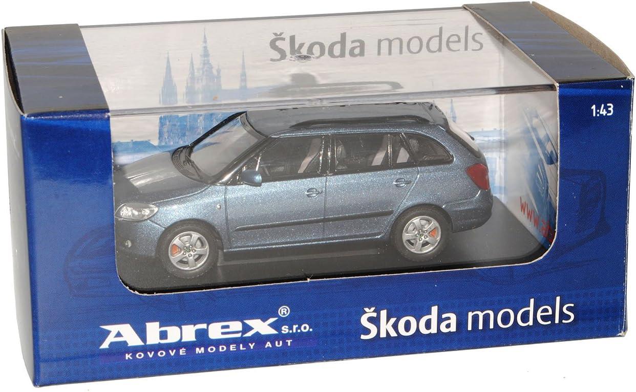 Skoda Fabia Ii 2 Kombi Combi 2007 Satin Grau 009ce 1 43 Abrex Modell Auto Modell Auto Spielzeug