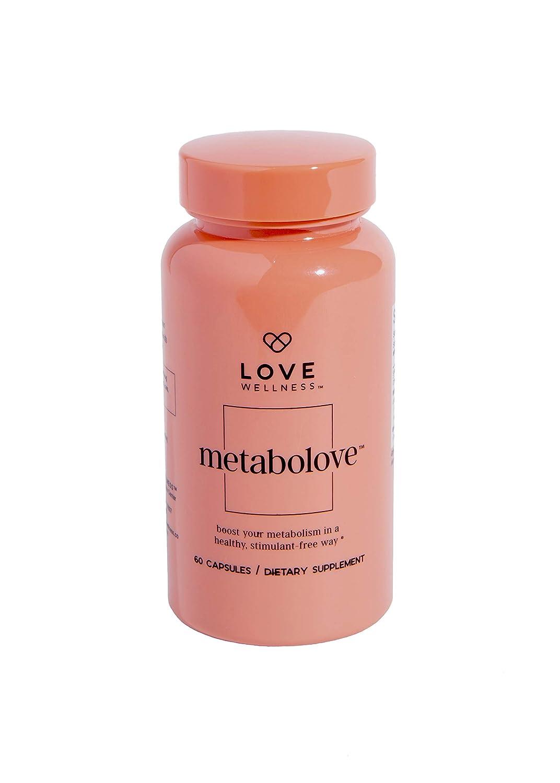 Love Wellness Metabolove (Lean Queen) - New Name, Same Formula - Natural Metabolism Booster - Thyroid Support - Selenium & Green Tea