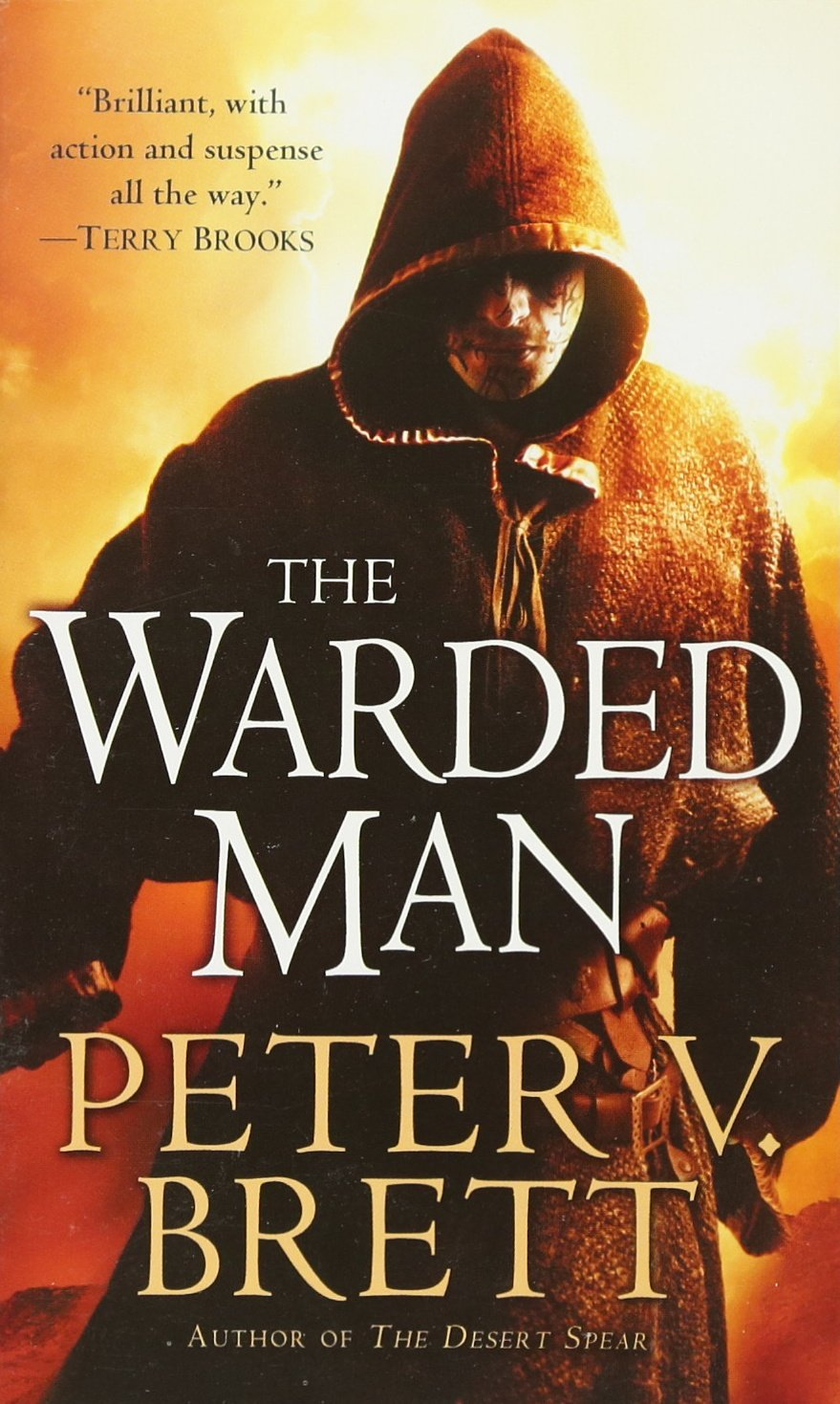 The Warded Man: Book One Of The Demon Cycle: Peter V Brett: 9780345518705:  Amazon: Books