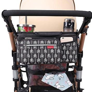 Amazon.com: Lekebaby - Organizador de cochecito de bebé con ...