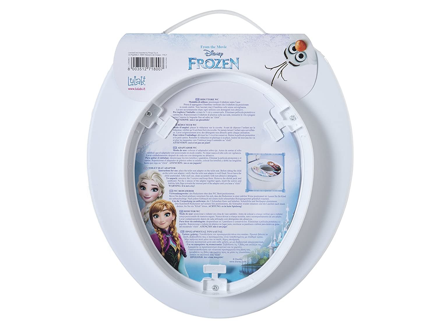 lulabi 8007/ Disney Frozen Toilettensitz soft mehrfarbig