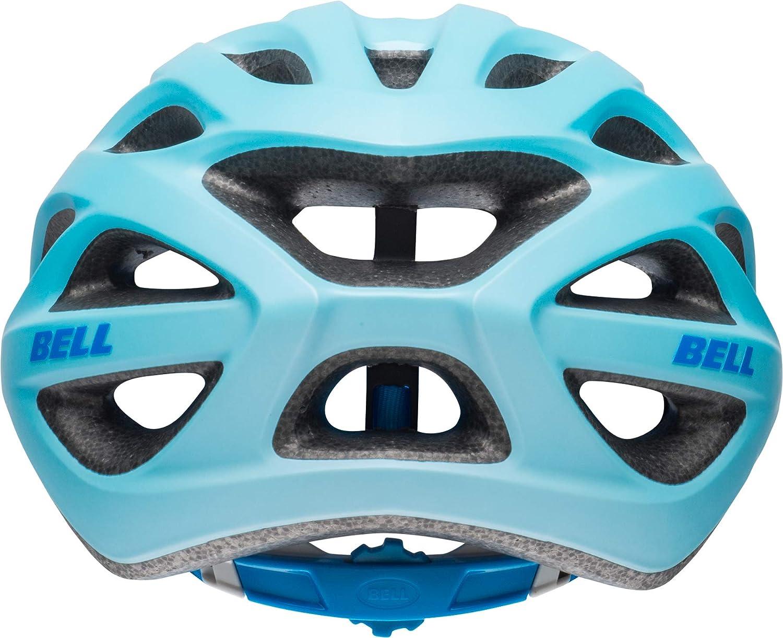 Unisex-Adultos BELL Tracker R Casco de Bicicleta Gris Mate y Azul Talla /única