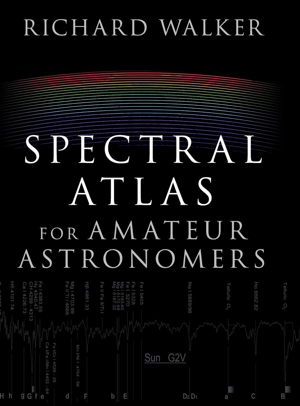 Spectral Atlas For Amateur Astronomers  A Guide To The Spectra Of Astronomical Objects And Terrestrial Light Sources