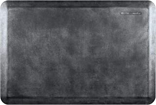 "product image for WellnessMats Linen 3/4"" Anti-Fatigue Mat - Comfort & Support - Non-Slip, Non-Toxic - 24""x36""x3/4"" Onyx"