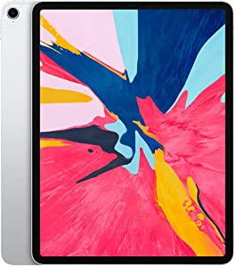 Apple iPad Pro 3rd Gen (12.9-inch, Wi-Fi + Cellular, 1TB) - Silver (Renewed)