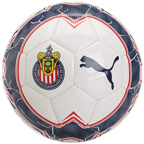 c0e9d6c4ad8 Amazon.com   Puma Chivas Evopower Vigor 6.3 Training Ball 5 White ...