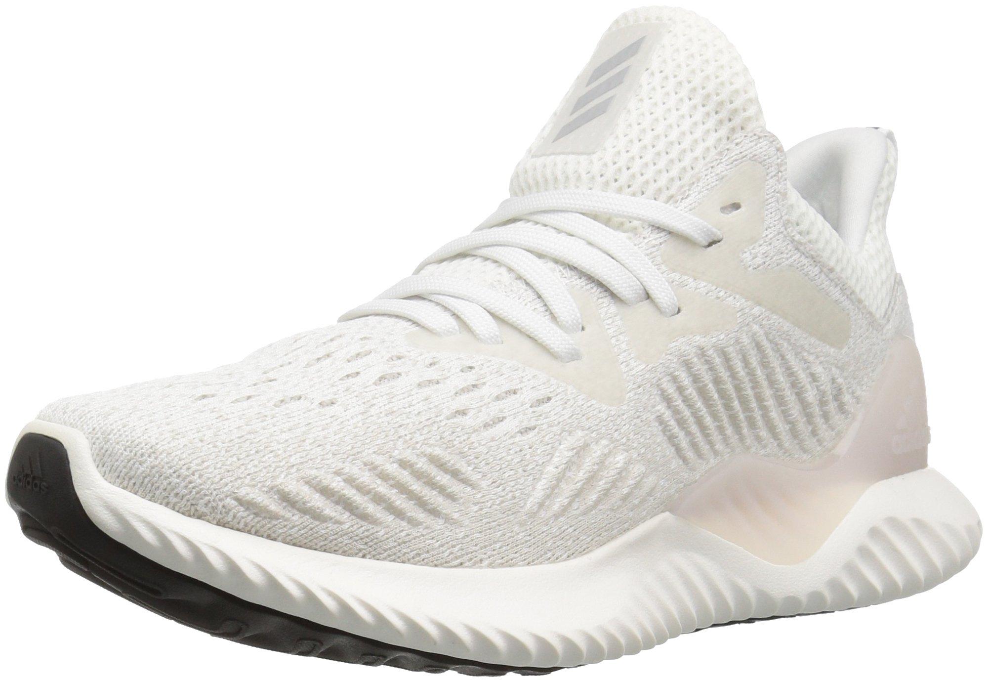 adidas Women's Alphabounce Beyond Running Shoe, White/Grey/Grey, 8 M US