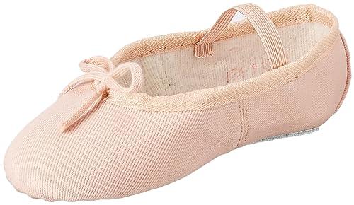 chic clásico elige el más nuevo 2019 profesional Miguelito Ballet Zapatos en Lona para Bebé-niñas, Color Rosa ...