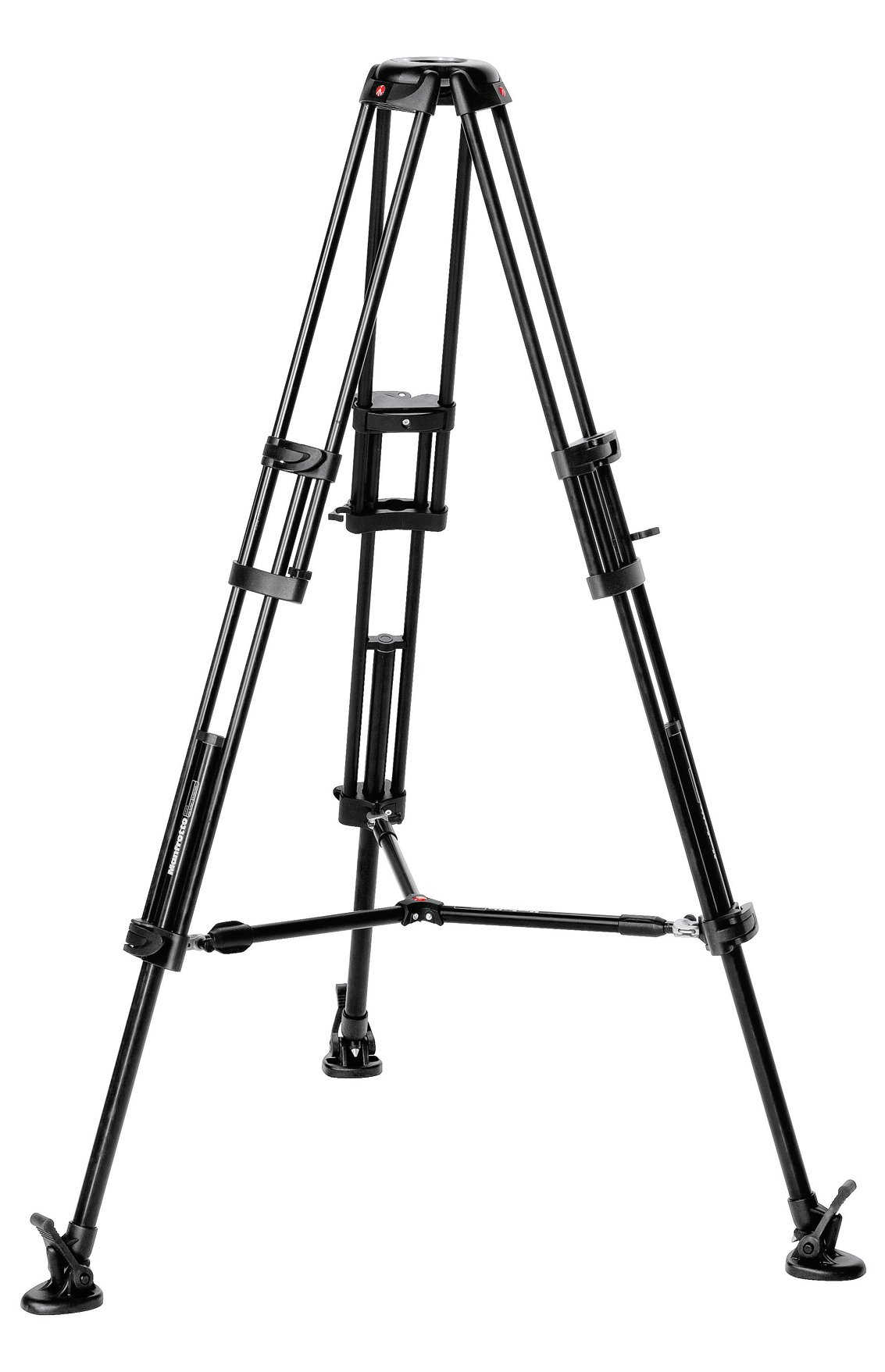 Manfrotto 546B Twin Leg Video Tripod with Mid Level Spreader