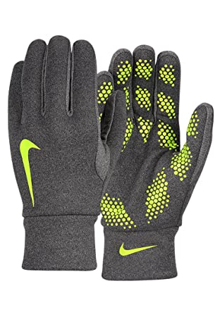 Nike Hyperwarm Field Player Glove – Unisex Gloves multi-coloured Azul/Lima  (Charcoal