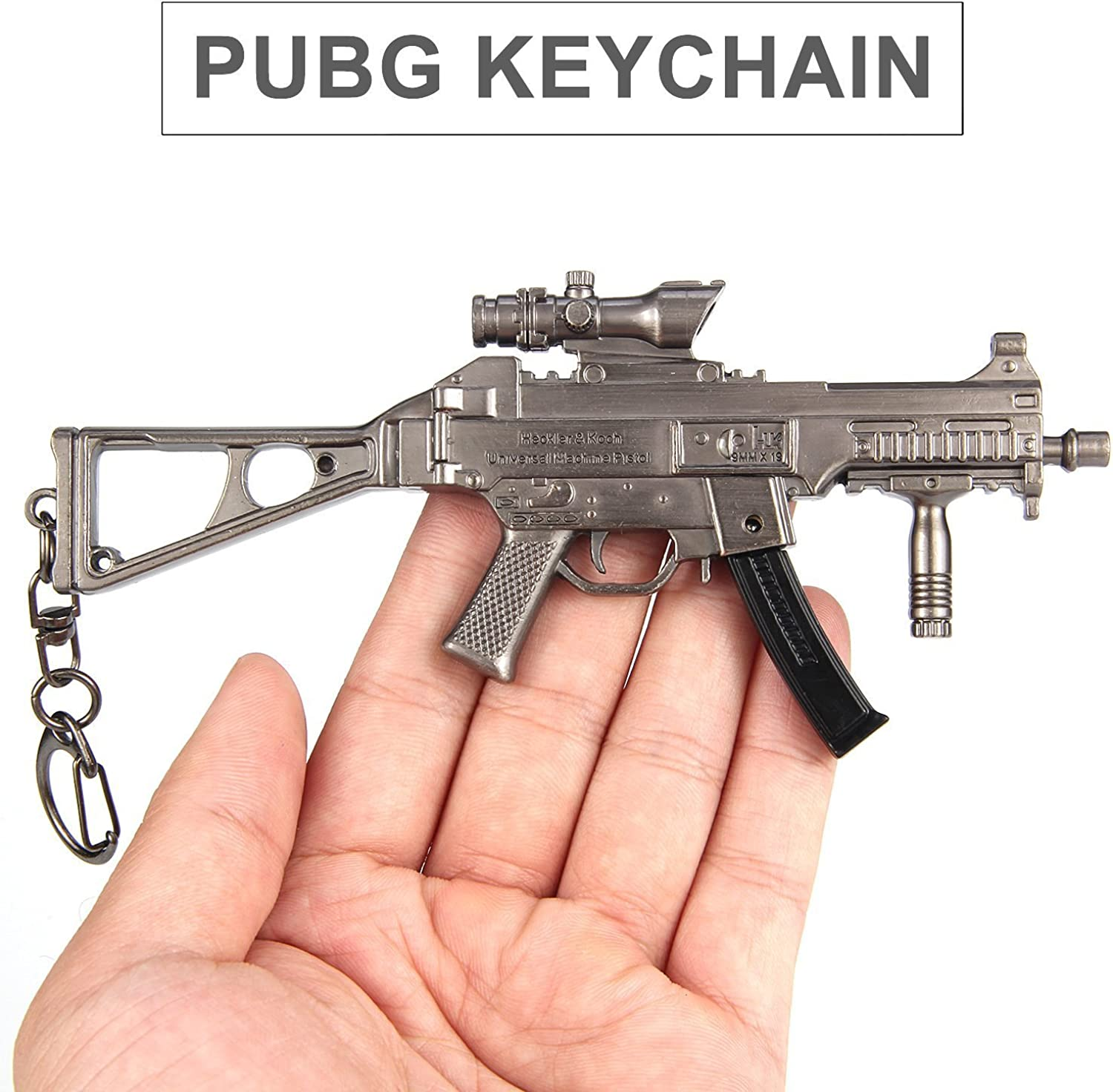 PUBG Metal Keychain Key Ring for Teammate and Best Friend Souvenir Gifts