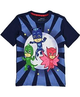 PJMASKS PJ Masks Short Sleeve T-Shirt Catboy, Owlette, Gekko Short Sleeve T