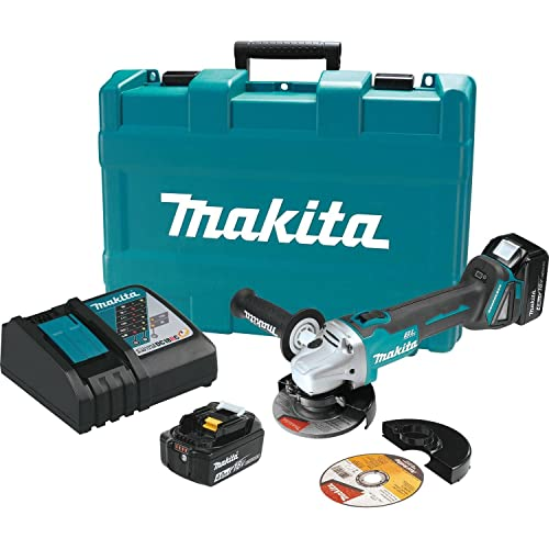 Makita XAG03MB 18V LXT BL Grinder Kit, 4-1 2 Discontinued by Manufacturer