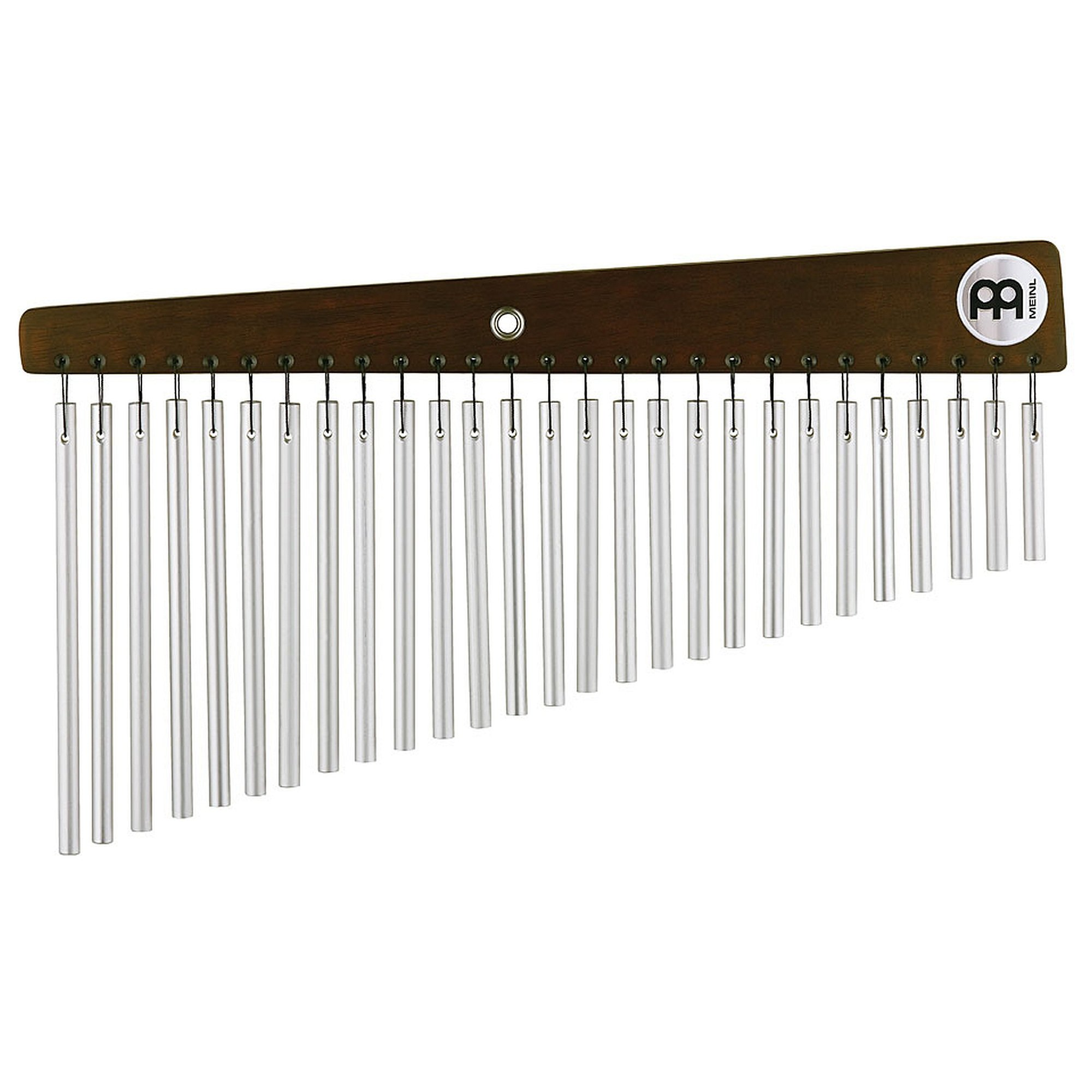 Meinl Percussion CH27VWB Silver Anodized Aluminum Alloy Vintage Single Row Chimes, 27 Bars by Meinl Percussion