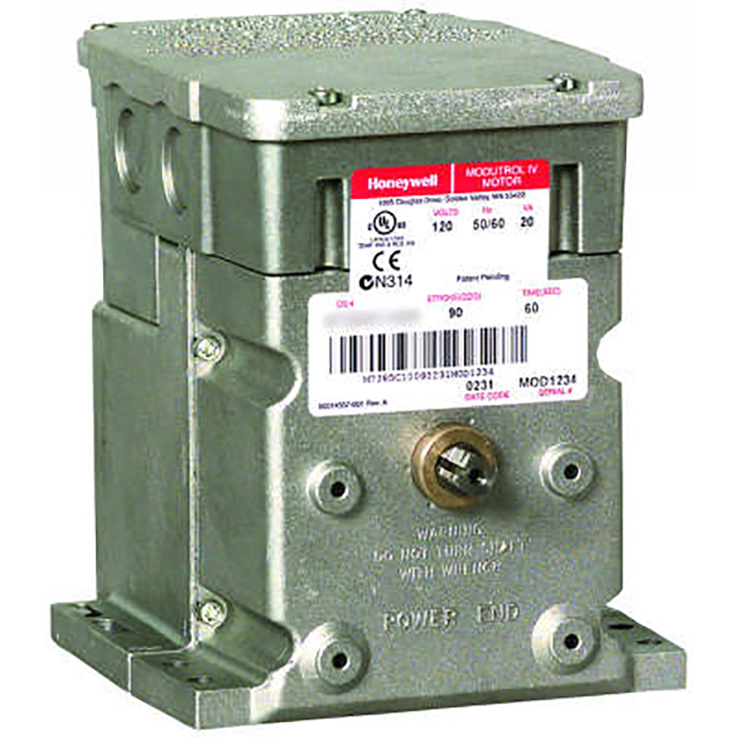 Honeywell M9484F1031 Modutrol IV Motor, 150 lb., 2 Switch