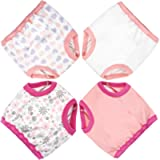 MooMoo Baby Updated Cotton Training Pants Strong Absorbent Toddler Training Underwear for Baby Girl and Boy 12M-4T