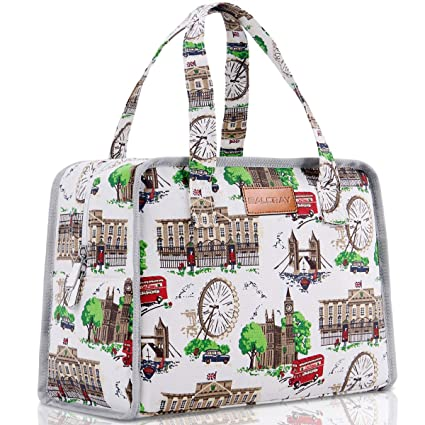 buy classic styles wholesale online BALORAY Lunch Bag for Women Stylish Insulated Lunch Bag Organic Cotton  Lunch Tote Bag Lunch Box for Women with Leak-proof Inner Bag Perfect for ...