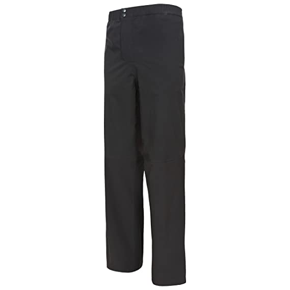 d7a837731a3 Trespass Mens Crestone DLX Waterproof Packaway Trousers  Amazon.co.uk   Clothing