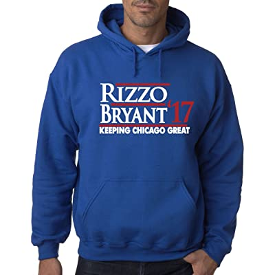 """The Silo BLUE Chicago """"Bryant Rizzo 17"""" Hooded Sweatshirt"""