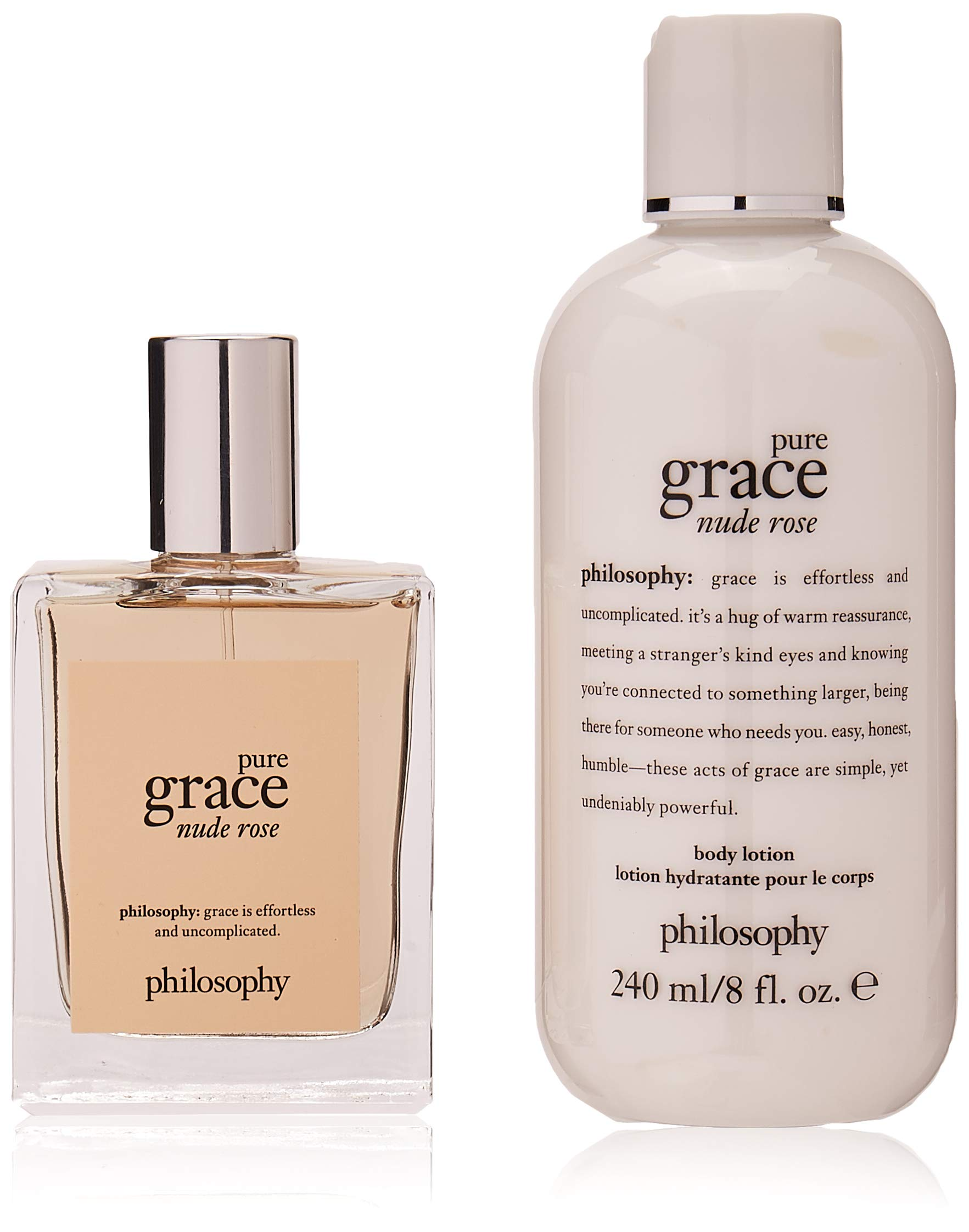 Philosophy Pure Grace Nude Rose Gift Set for Women, 2 Count by Philosophy