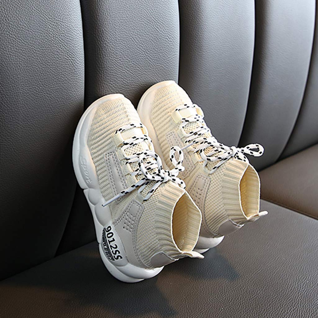 Toddler Boys Girls Fashion Tennis Shoes Sneakers for 1-11 Years Old Child Teen Lightweight Sports Walking Shoes