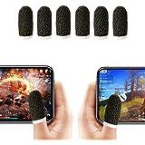 Funda para dedo, transpirable PUBG driver de juegos móvil, funda para dedo táctil con fibra de alambre para juegos móviles, r