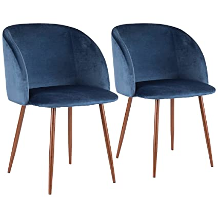 Groovy Amazon Com Lumisource Contemporary Dining Chair In Walnut Machost Co Dining Chair Design Ideas Machostcouk
