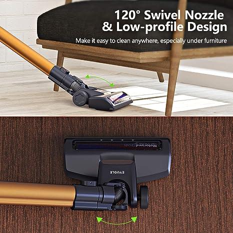 EYUGLE Cordless Stick Vacuum Cleaner
