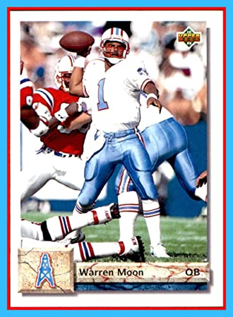 1992 Upper Deck  146 Warren Moon HOUSTON OILERS Washington Huskies f813f8521