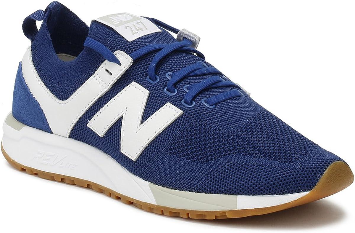 New Balance Herren Mrl247d1 Sneaker, grau Blau / Weiß