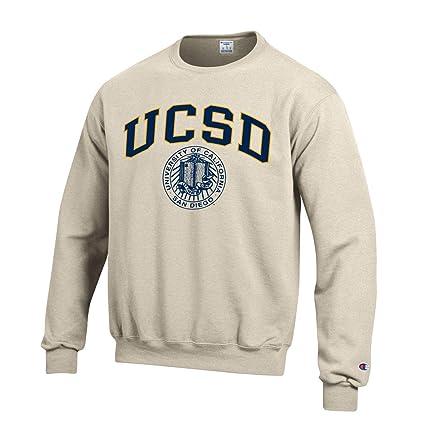 9dda1e387a64 Amazon.com   Shop College Wear UC San Diego Tritons Block   Seal Champion  Sweatshirt-Oatmeal   Sports   Outdoors