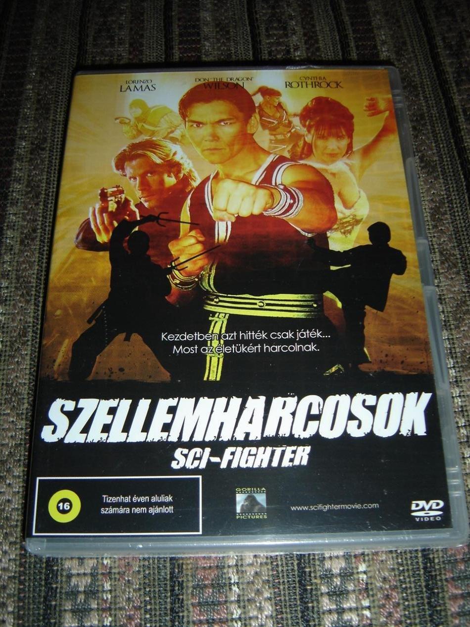 Amazon com: Szellemharcosok / Sci-Fighter (2004) [DVD Region 2 PAL