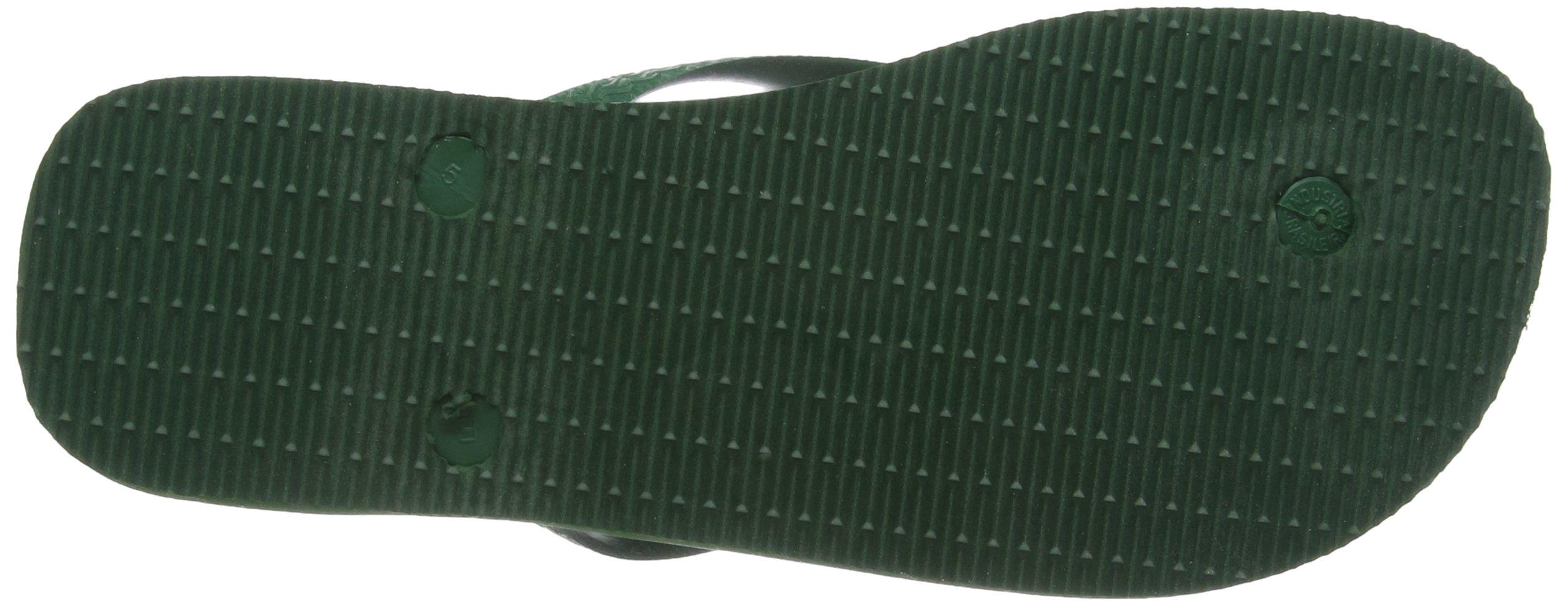 Havaianas Brasil, Unisex Adult's Flip Flops, Green (Brasil Amazonia), 3/4 UK (37/38EU) (35/36 BR) by Havaianas (Image #4)