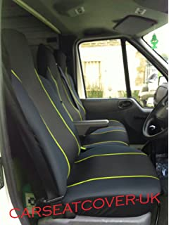 RENAULT MASTER 2+1 2010 ONWARDS STRONG FABRIC SEAT COVERS MADE TO MEASURE
