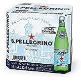 サンペレグリノ(S.PELLEGRINO) 炭酸入りナチュラルミネラルウォーター 瓶 750ml×12本[直輸入品]