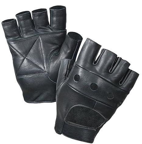 Kango Fitness Gant Mitaine Cuir Noir Pour Cyclisme Moto Gym ... 7d70281555b