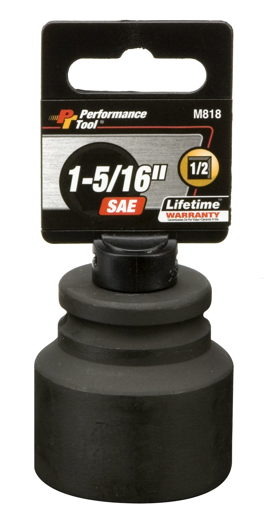 Performance Tool M818 1/2'' Dr. 1-5/16'' Impact Socket by Performance Tool
