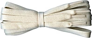 Fabmania Cordones de algodón planos - Ideal para Adidas, Converse ...