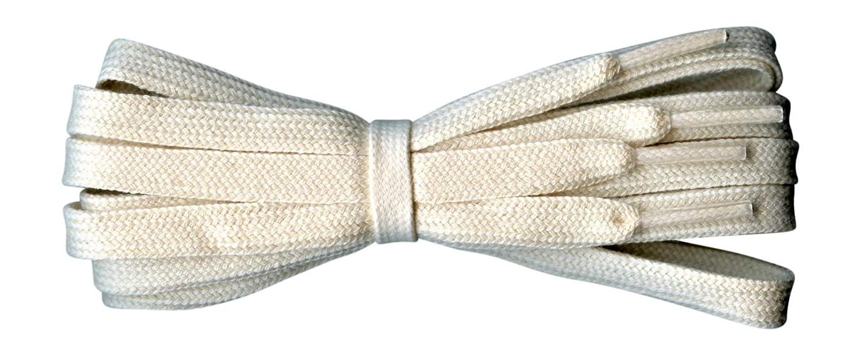 details for cheap sale get new Lacets plats en coton - Idéal pour Adidas, Converse, Vans Stan Smith, Nike  Air Huarache - 8 mm - 60 à 140 cm - Fabriqué en Angleterre