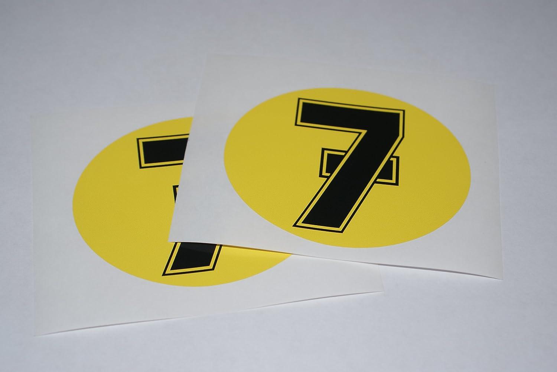 Rapro Graphics Barry Sheene Number 7 Decals Pair