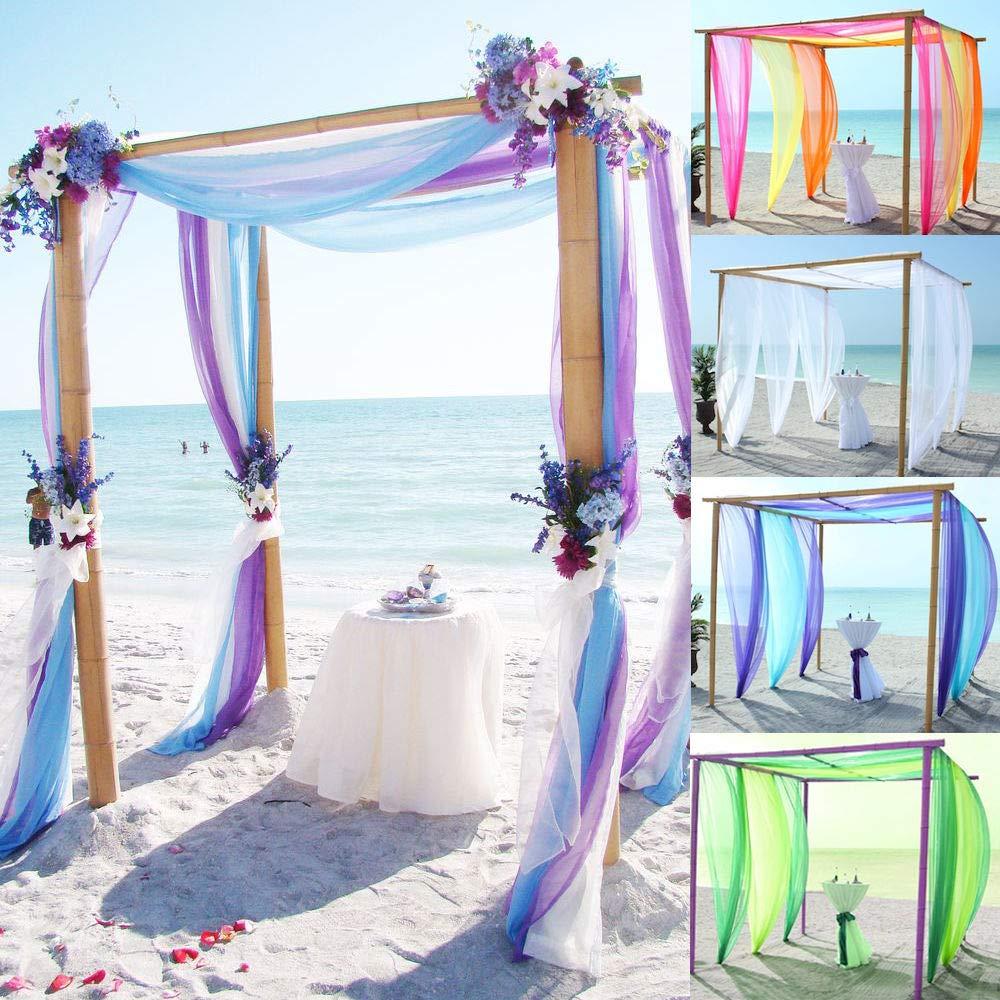 10 DIY tul rollos tul cinta tul decoraci/ón tejido mesa cinta D/éco cinta tul para boda Party Banquet falda ropa decoraci/ón Artesan/ía