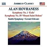 Hovhaness: Symphony No. 1 - Exile / Symphony No. 50 - Mount Saint Helens / Fantasy on Japanese Woodprints